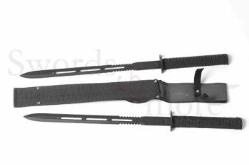 Doppel-Schwert mit Scheide