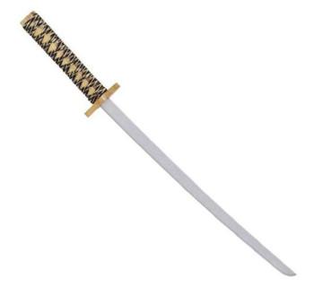 Holzsamuraischwert mit Scheide