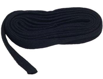 Seidenband schwarz 8mm
