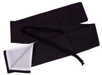Stoffhülle für Katana schwarz