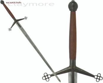 Scottish Claymore antiqued