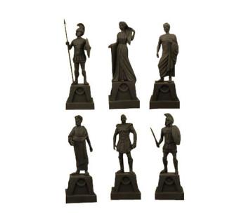 Kampf der Titanen 2010 Statuen Set 18 cm 6 Stück