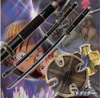 One Piece Roronoa Zoro Sandai Kitetsu Anime Schwert
