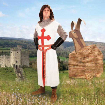 Monty Python - Sir Galahad Kostüm, Größe S/M