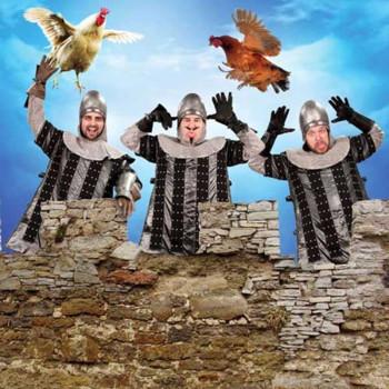 Monty Python - Der Französische Spötter Kostüm, Größe S/M