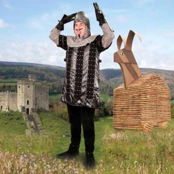 Monty Python - Der Französische Spötter Kostüm, Größe L/XL