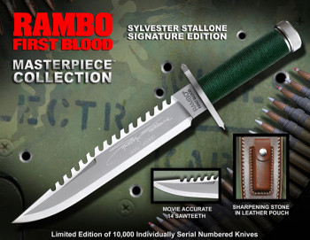 Masterpiece Collection Rambo First Blood Stallone Edition