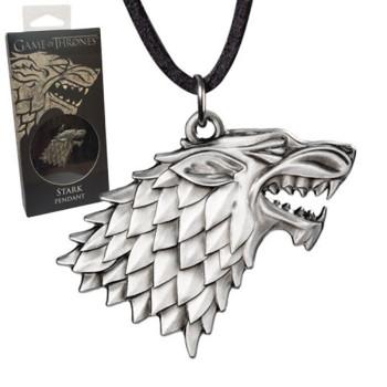 Game of Thrones Anhänger mit Kette Stark Sigil Costume