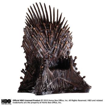 Game of Thrones Bronze Statue Eiserner Thron 36 cm