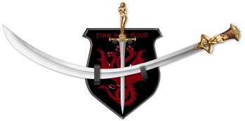 Daario's Ladies Schwert und Dolch