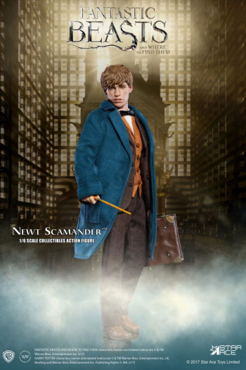 Phantastische Tierwesen - My Favourite Movie Actionfigur 1/6 Newt Scamander 30 cm