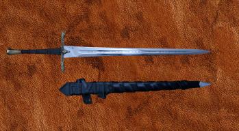 Das mittelalterliche Eindride Lone Wolf Schwert
