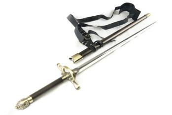 Meuchelmörder-Schwert mit Scheide