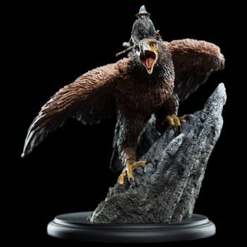 Herr der Ringe Statue Gandalf on Gwaihir 15 cm