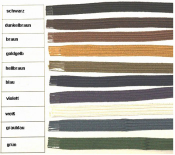 Griffwicklung Tsuka Ito für Katana 10 mm Baumwolle (1 Meter)