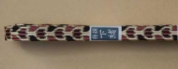 Sageo aus Seide Kikko 4-farbig 110 cm für Wakizashi