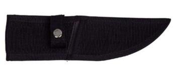 Wurfmesser schwarz, Kordelgriff, 22 cm