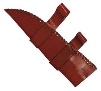 Sax Messer mit Lederscheide klein