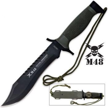 M48 Messer mit feststehender Klinge