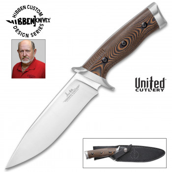 Gil Hibben Tundra Hunter Messer mit festgestellter Klinge