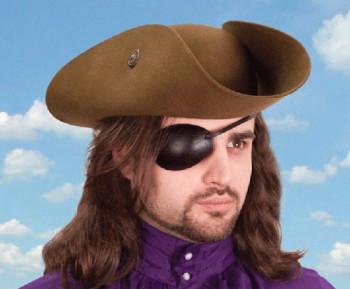 Augenklappe aus Leder - rechtes Auge