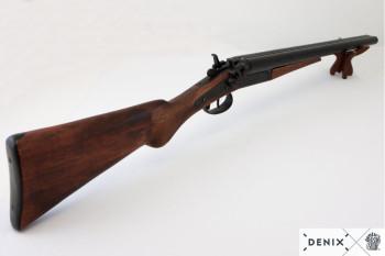 Schrotflinte Wyatt Earps 1881 mit Holzschaft