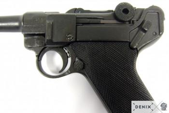 Luger-Pistole PO8 Parabellum 1898, Mittelauf