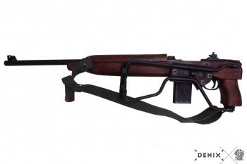 M1 A1 Karabiner, Kal. 30, USA 41, Fallschirmjäger, Kolben klappbar, Gurt, v. Winchester, 2.WK