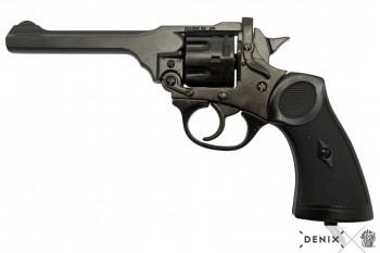 Webley MK 4 Revolver schwarz, die Waffe des Abenteurers Jones