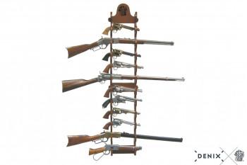 Wandhalter für 12 Pistolen