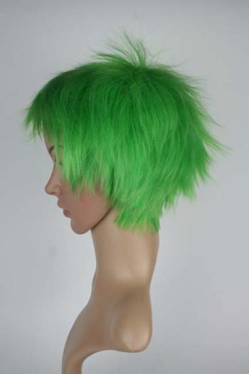 Standard Perücke – grün – kurz