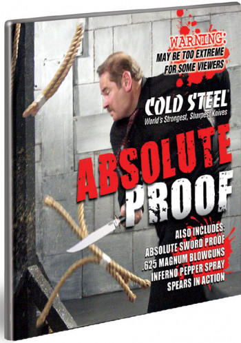 Cold Steel Absolute Proof DVD
