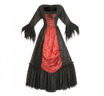 Gothic Netzkleid, Größe M