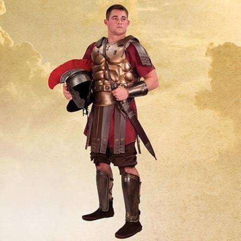 Armschienen eines Römischen Kommandanten