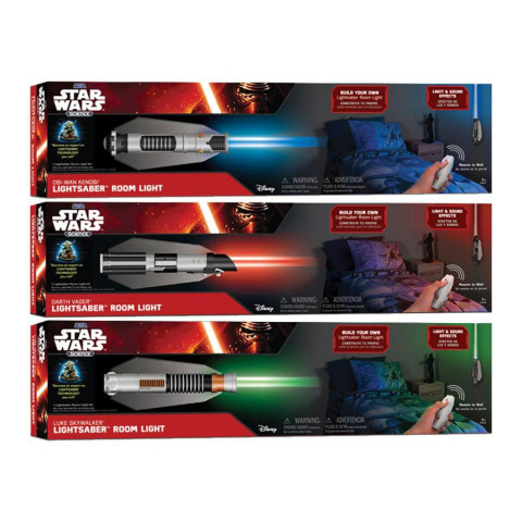 Star Wars Science Lightsaber Room Light Assortment (6)