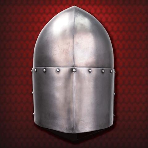 Tempelritter Zuckerhut-Helm