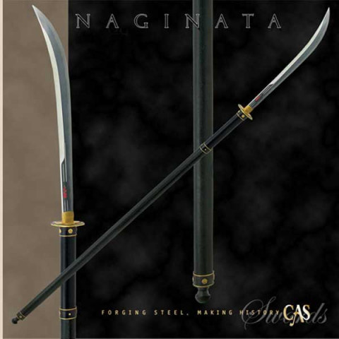 Handgeschmiedetes Naginata
