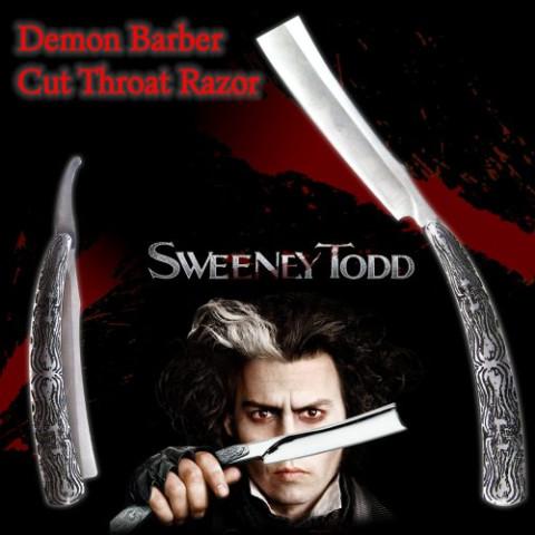 Sweeney Todd Dämonen Barbiermesser