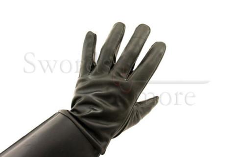 Leder Kampfhandschuh Größe S