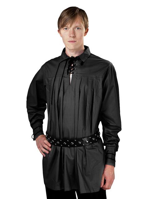 Hemd - Charles, schwarz, Größe L