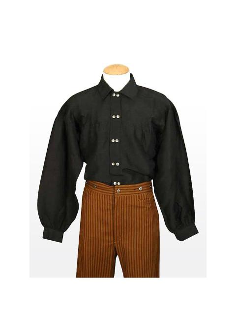 Hemd - Old Sam, schwarz, Größe S