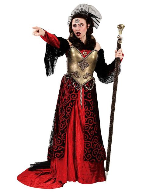 Hexenkönigin Kostüm, Größe XL