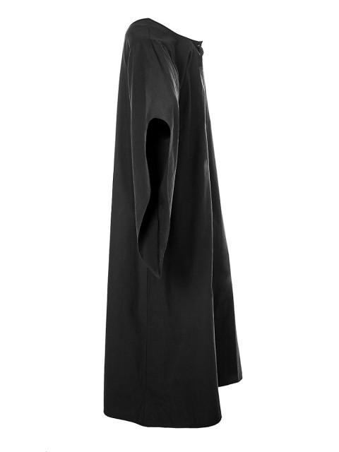 Lange Tunika schwarz, Größe XL
