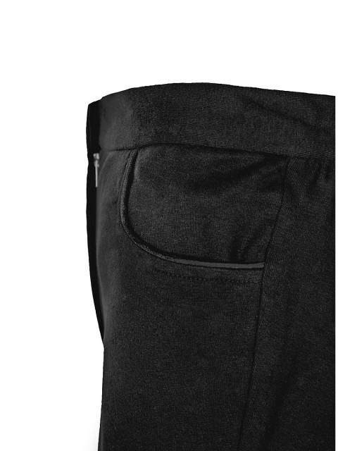 Steampunk Uniformhose schwarz, Größe L