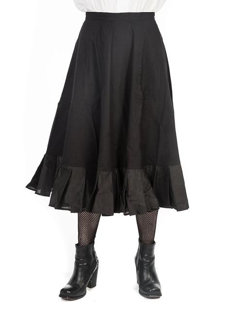 Rock -Abigail (schwarz), Größe XL