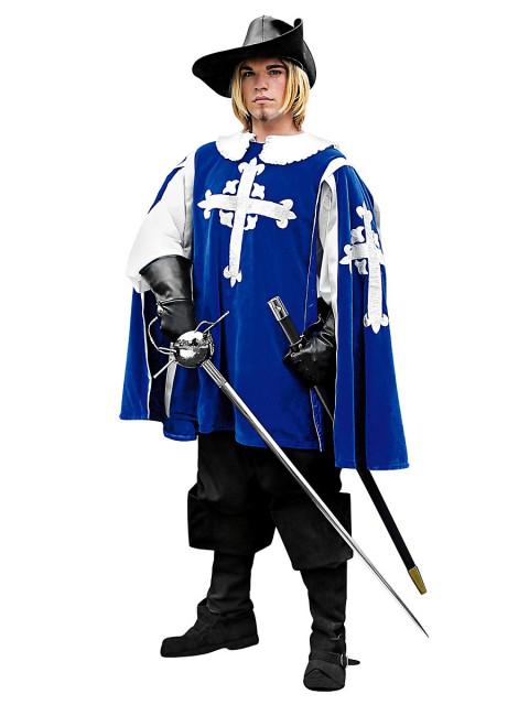 Wappenrock - Musketier, blau, Größe XXL