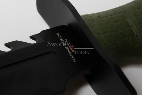 Anytime Anywhere Marine Recon Bowie und Scheide