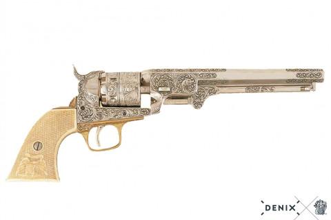 Navy Colt weiß, Amerikanischer Bürgerkrieg