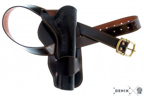 Coltgürtel aus Leder, für 1 Colt