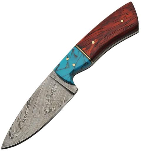 Messer mit festgestellter Klinge